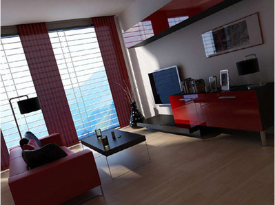 Séjour appartement 3D | 3D Library | Scoop.it
