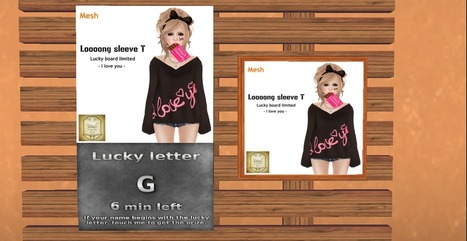 New lucky broad from Ribbon —> slurl | Second Life Free, Cheap, Promos, & Sales | Scoop.it