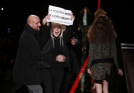 Greenpeace, Anti-Fur Protests Confront Milan Fashion Shows - BoF ... | Animal Rights | Scoop.it