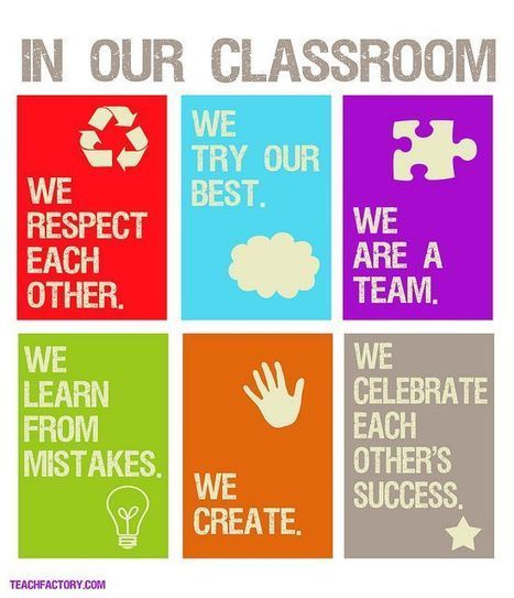 Simple and positive classroom rules. | Classroom Rules That Work | Pinterest | EDCI397 | Scoop.it