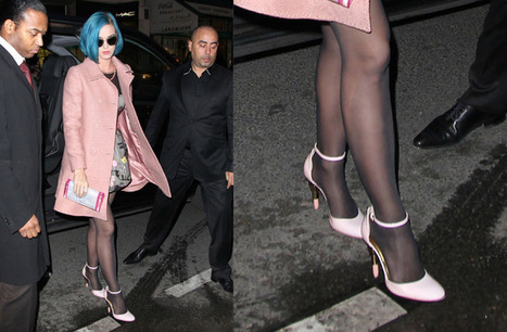 Katy Perry takes on Paris with the Alberto Guardiani Lipstick Heel | Le Marche & Fashion | Scoop.it
