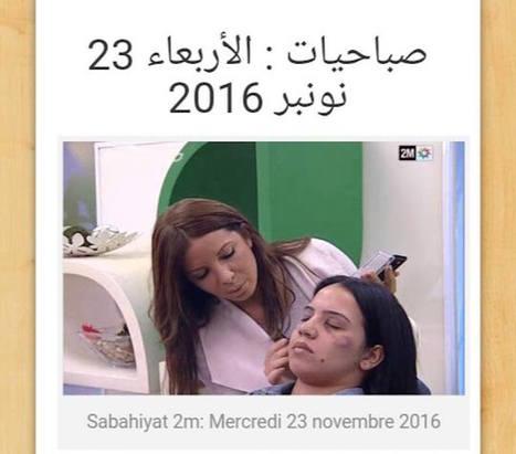 (Bad buzz) Au Maroc, des tutos make-up à la télé pour femmes battues provoquent un tollé | A.S.2.0 - 16 | Scoop.it