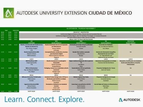 Revit - Hecho en Mexico: Autodesk University Extension México. Una vista Rápida a la Agenda de AEC y ENI | Learning BIM | Scoop.it