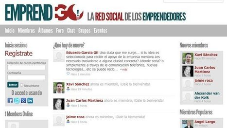 EmprendeGo, la red social para emprendedores en castellano | Busqueda de  empleo 2.0 | Scoop.it