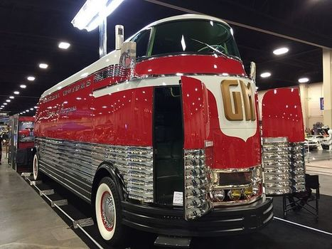 The simply beautiful GM Futurliner - only nine survive & one sold for $4 million ... | Miscellaneous Topics | Scoop.it