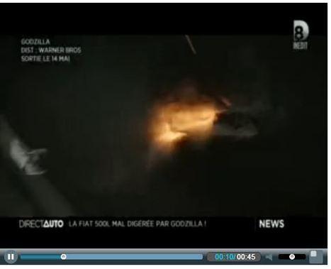 Direct Auto - D8   Godzilla - TV & Web Coverage   Scoop.it