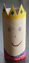 The Activity Mom: Toilet Paper Roll Alphabet Craft - Q is for Queen | Trabalhos Manuais no Jardim de Infância | Scoop.it