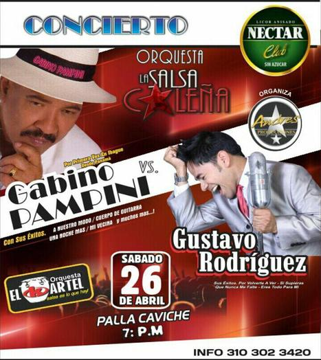 GABINO PAMPINI Y GUSTAVO RODRIGUEZ UN ÉXITO EN IBAGUE | musik | Scoop.it