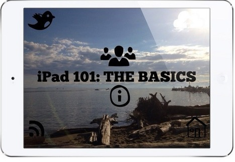 iPad Basics: Tips, Apps and Ideas for Using iPad in Your Class ~ Educational Technology and Mobile Learning | IPAD, un nuevo concepto socio-educativo! | Scoop.it