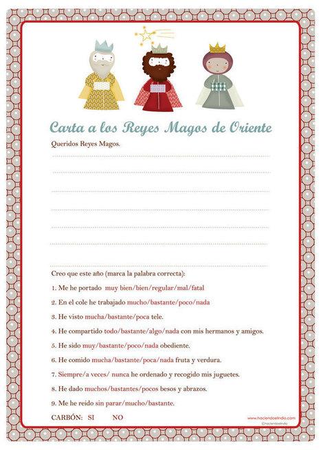 Carta para los Reyes Magos de Oriente | Español para los más pequeños | Scoop.it
