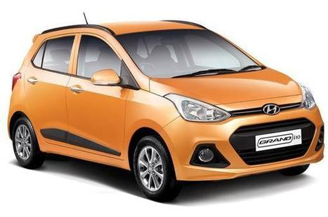 Hyundai Grand i10 - Front view | Cars & Bikes | Scoop.it