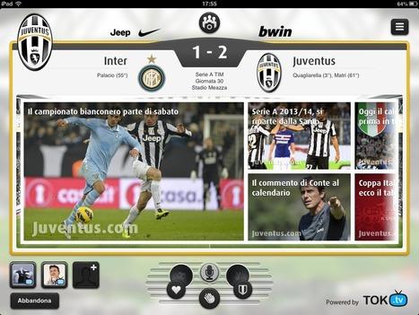 Il second screen del calcio italiano: arriva Juventus Live la Social Tv ... - Assodigitale   Second screen advertising   Scoop.it