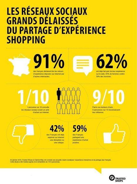 Les réseaux sociaux n'influent pas sur les actes d'achat [Infographie] | Retail, Numérique et Territoires | Scoop.it