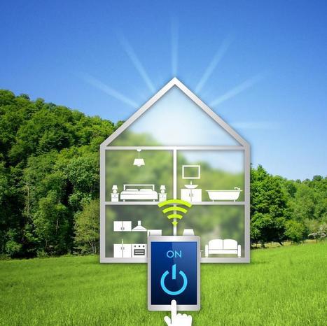 Domotique : la maison connectée et intelligente | D'Dline 2020, vecteur du bâtiment durable | Scoop.it