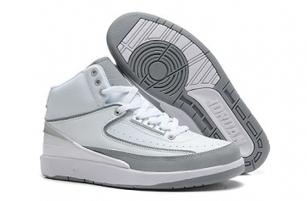 Cheap Nike Jordan 2 White Grey Shoes For Sale Online - SportsYTB.Com | Cheap Nike Air Jordan Shoes,Cheap Nike Sneakers | Scoop.it