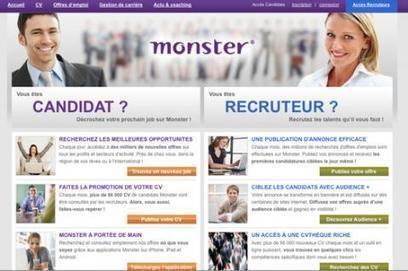 Des candidatures facilitées sur le site mobile de Monster | COURRIER CADRES.COM | Geeks | Scoop.it