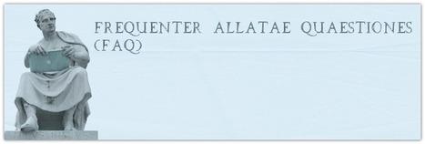 Frequenter allatae quaestiones   Griego clásico   Scoop.it