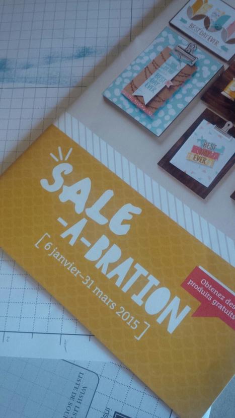 Réservation d atelier du 11 au 16 décembre à Paris pour le lancement de la sale-a-bration | Loisirs Créatifs manuels | Scoop.it
