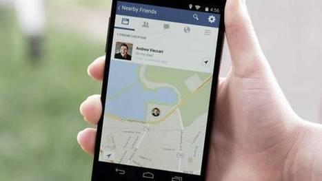 Facebook va vous prévenir quand vos amis sont près de vous | 3.0 GeeK4Pro | Scoop.it