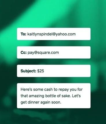 Square Follows Google With Pay-by-Email Service - SocialTimes | Publier autrement avec le néo web | Scoop.it