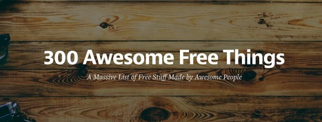 300+ Awesome Free Web/Design Internet Resources You Should Know | MOOCS and MOOCS | Scoop.it
