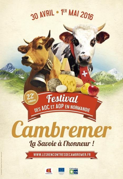 Retrouvez-moi aux Rencontres de Cambremer, le festival des produits AOC/AOP en Normandie ! - Communication (Agro)alimentaire | Communication Agroalimentaire | Scoop.it