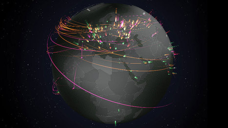 Cyber Threat Real-Time Map   Innovative Marketing and Crowdfunding   Scoop.it