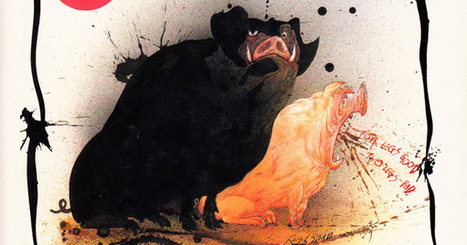 George Orwell's Animal Farm Illustrated by Ralph Steadman | Literature | Scoop.it