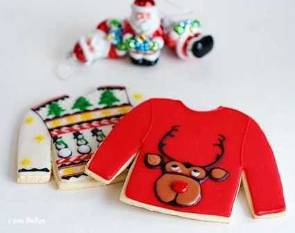 Ugly Christmas Sweater Cookies | Candy Buffet Weddings, Events, Food Station Buffets and Tea Parties | Scoop.it