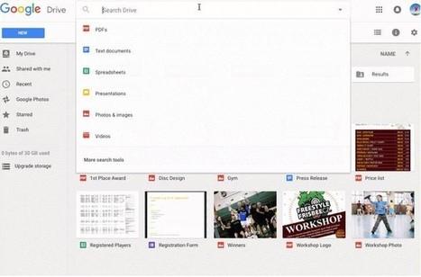 Google Drive ahora cuenta con procesamiento de lenguaje natural para las búsquedas | Aprendiendoaenseñar | Scoop.it