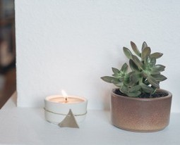 Blogger Holi-DIY:Make This Spiced Beeswax Candle | Toutes les Choses Délicieuses et Chic de Rum Cake Lounge | Scoop.it