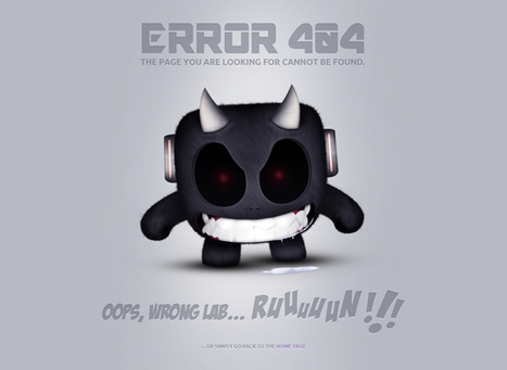 Best Examples of How to Create a 404 Error Page   Web Design and Wordpress   Scoop.it