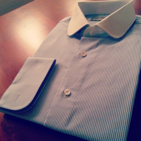 #clubcollar #singlefrenchcuff #bespoke #tailoredshirts | Camicie uomo su misura....consigli, curiosità e molto altro | Scoop.it