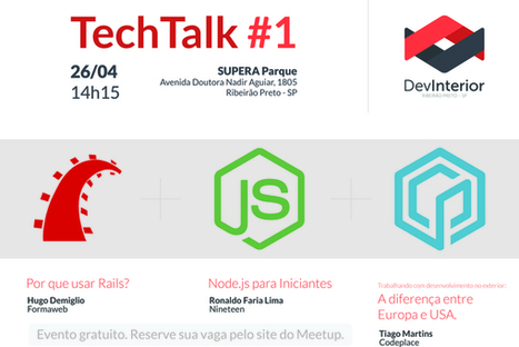 TechTalk #1 em Ribeirão Preto | Entrepreneurship, Startups and Social Business | Scoop.it