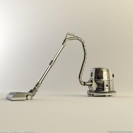 3d models Rainbow Vacuum Cleaner - The 3D Studio | Rainbow Vacuums | Scoop.it