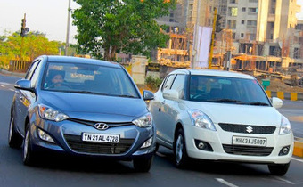 Hyundai Dehko: Can Hyundai i20 treaten the King Suzuki Swift | Hyundai Scoops | Scoop.it