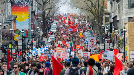 Students' strike rights reviewed by Quebec legal aid group - Montreal - CBC News | Local Classified ads website re-modeling themselves in Québec city | Scoop.it
