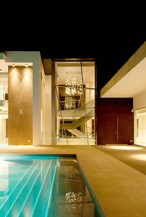 Stunning Background for a Modern Family Lifestyle: Quinta Villa   Interiors   News, E-learning, Architecture of the future at news.arcilook.com   Architecture news   Scoop.it