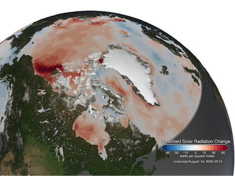Satellite Map Shows Evidence of a Dangerous Arctic Warming Feedback Loop | WIRED | Sustainability | Scoop.it