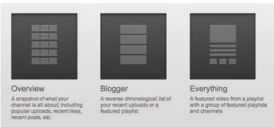 YouTube añade plantillas más sencillas y flexibles en sus canales   Recull diari   Scoop.it