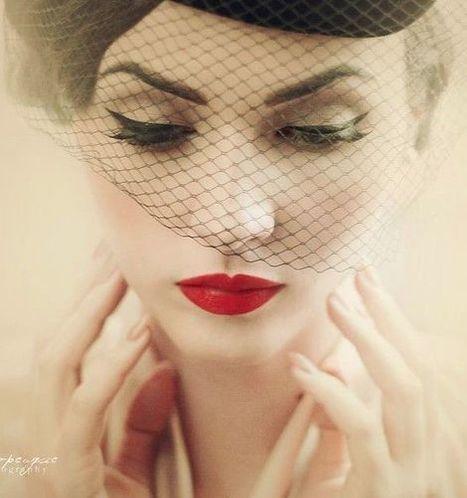 Elegant Retro Bridal Makeup | At Home Beauty Treatments | Scoop.it