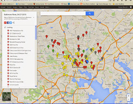 Mapping For Justice: Mapping Strategies in Response to Baltimore Riots | digital divide information | Scoop.it