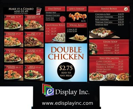 Brochure --- Drive-Thru Digital Menus | SignageWorld | Scoop.it
