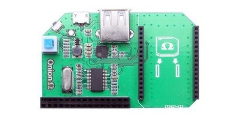 Get to Know Onion Omega, a Tiny New Dev Board | Arduino, Netduino, Rasperry Pi! | Scoop.it