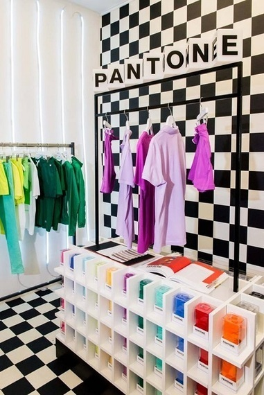 La boutique éphémère de Pantone - L'ADN | Pop-up shop, concept-store, new forms of retail | Scoop.it