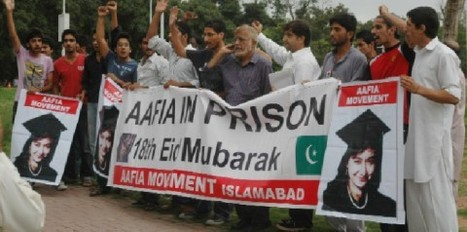 Protest held for Aafia's release | Pakistan Today | Latest news, Breaking news, Pakistan News, World news, business, sport and multimedia | Human Rights and the Will to be free | Scoop.it
