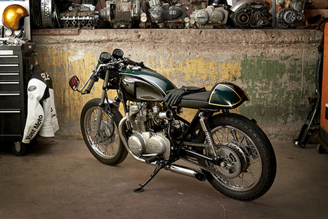 1975 Kawasaki KZ400 by Vast Moto | Cafe Racers | Scoop.it