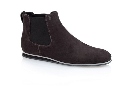 Tod's No_Code - Collection - Men's - Chelsea Suede Ankle Boots | Le Marche & Fashion | Scoop.it