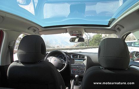 Citroën C4 BlueHDi 120 Shine - Essai détaillé - Moteurnature.com   Automobile technologie   Scoop.it