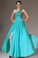 [EUR 139,99] eDressit 2014 New Blue One-Shoulder Embroidered High-Slit Prom Dress (02141911)   eDressit 2014 Nouveauté Magnifique Robe de Soirée en tendance   Scoop.it